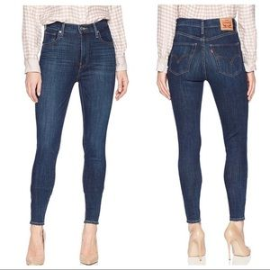 LEVI'S MILE HIGH SUPER SKINNY Jeans 31 X 32